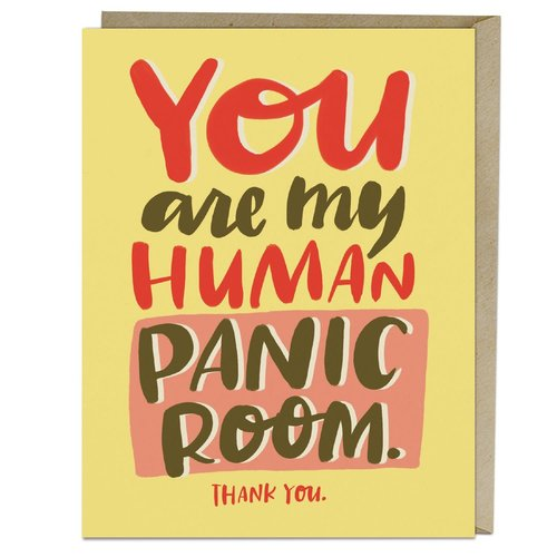 EM AND FRIENDS (FORMERLY EMILY MCDOWELL STUDIOS) CARD-HUMAN PANIC ROOM