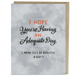 EM and Friends CARD-ADEQUATE DAY