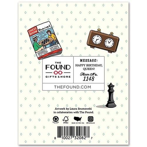 THE FOUND CARD- YOU'RE GENIUS QUEEN'S GAMBIT