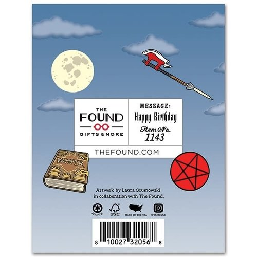 THE FOUND CARD-YOU WERE BORN TO SLAY