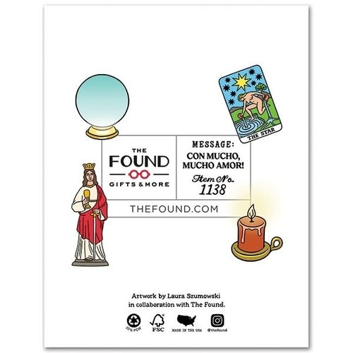 The Found CARD-WALTER MERCADO BIRTHDAY