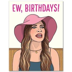 THE FOUND CARD-EW, BIRTHDAYS!