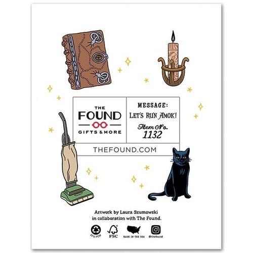 THE FOUND CARD-HOCUS POCUS