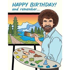 THE FOUND CARD-BOB ROSS BIRTHDAY