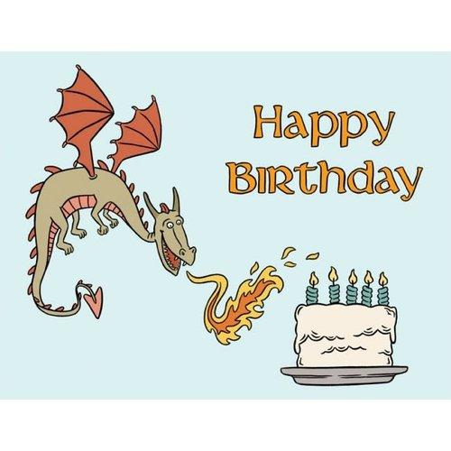 THE FOUND CARD-DRAGON BIRTHDAY