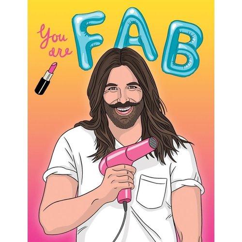 THE FOUND CARD-FAB BIRTHDAY