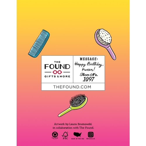 THE FOUND CARD-FAB BIRTHDAY