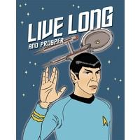 CARD-LIVE LONG & PROSPER