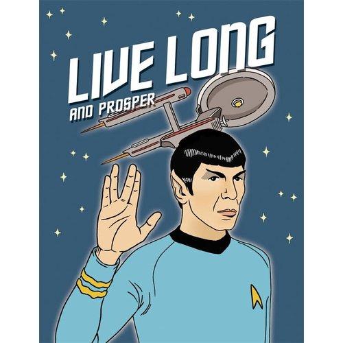 The Found CARD-LIVE LONG & PROSPER