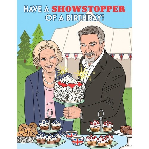 THE FOUND CARD: HAVE A SHOWSTOPPER OF A BIRTHDAY