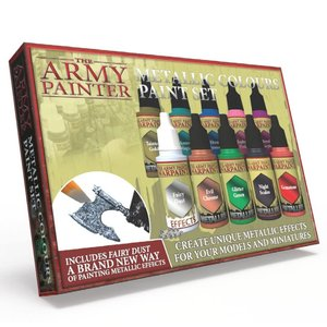 The Army Painter WARPAINTS: METALLIC COLOURS PAINT SET