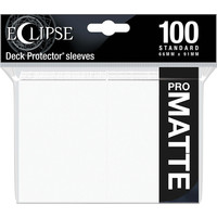 DECK PROTECTOR: ECLIPSE MATTE STANDARD - ARCTIC WHITE (100)