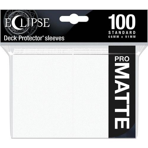 Ultra Pro International DECK PROTECTOR: ECLIPSE MATTE STANDARD - ARCTIC WHITE (100)