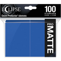 DECK PROTECTOR: ECLIPSE MATTE STANDARD - PACIFIC BLUE (100)