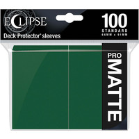 DECK PROTECTOR: ECLIPSE MATTE STANDARD - FOREST GREEN (100)