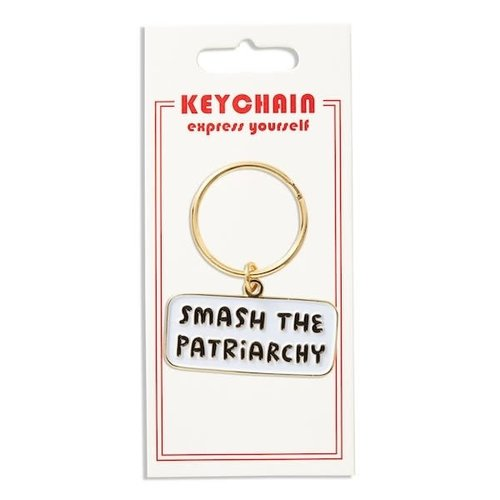 THE FOUND KEYCHAIN: SMASH THE PATRIARCHY