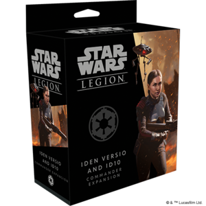 Fantasy Flight Games STAR WARS: LEGION - IDEN VERSIO & ID10 COMMANDER