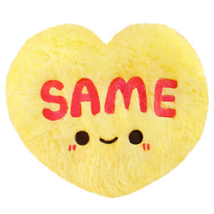 "SQUISHABLE SQUISHABLE 6"" CANDY HEART - SAME"