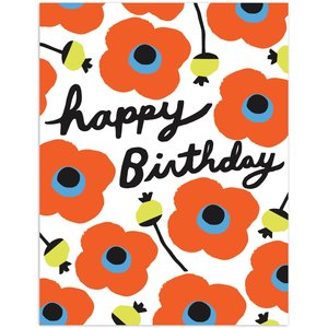 The Found FLORAL HAPPY BIRTHDAY CARD