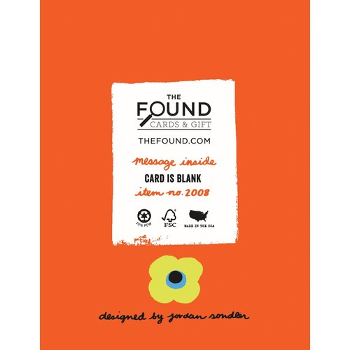 THE FOUND CARD: FLORAL HAPPY BIRTHDAY