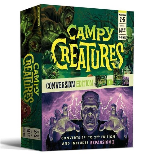 Keymaster Games CAMPY CREATURES: CONVERSION EDITION