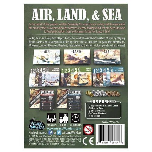 Arcane Wonders AIR, LAND, & SEA: REVISED EDTION