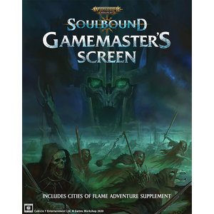 Cubicle 7 WARHAMMER AGE OF SIGMAR - SOULBOUND: GAMEMASTER'S SCREEN