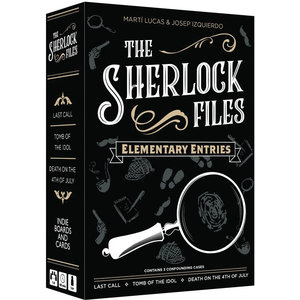 Indie Boards & Cards SHERLOCK FILES: ELEMENTARY ENTRIES