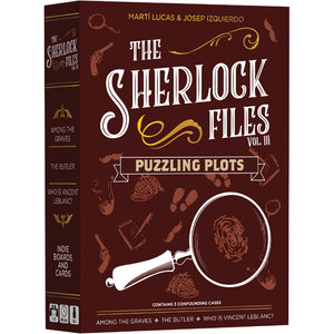 Indie Boards & Cards SHERLOCK FILES: PUZZLING PLOTS