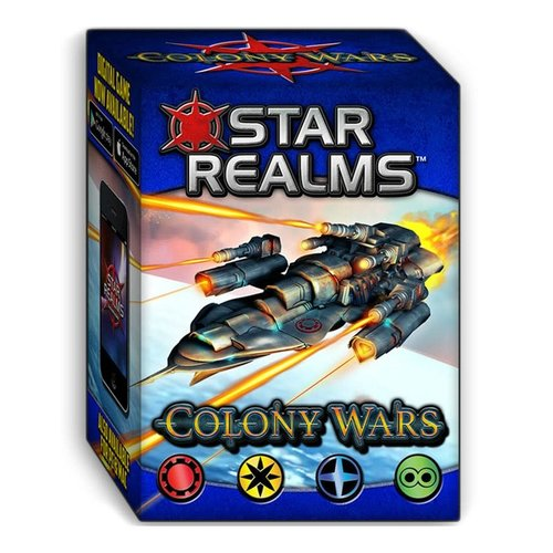 Wise Wizard Games STAR REALMS: COLONY WARS