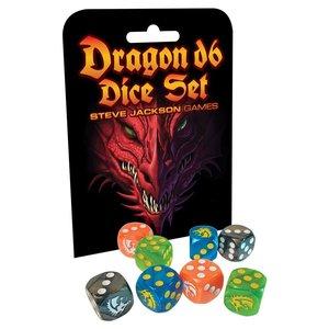 Steve Jackson Games DICE SET: DRAGON (D6)