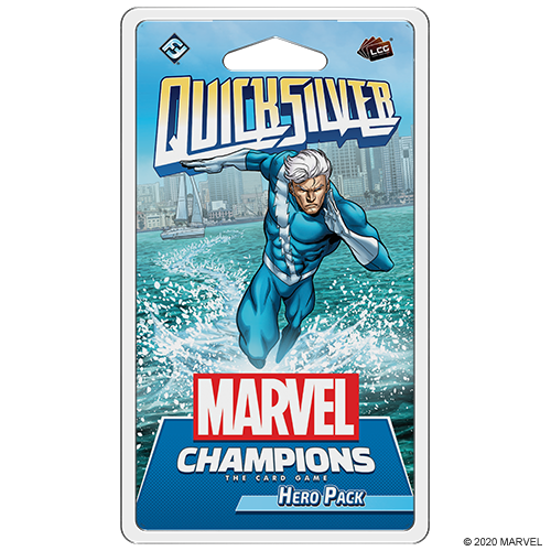 Fantasy Flight Games MARVEL CHAMPIONS LCG: QUICK SILVER HERO PACK