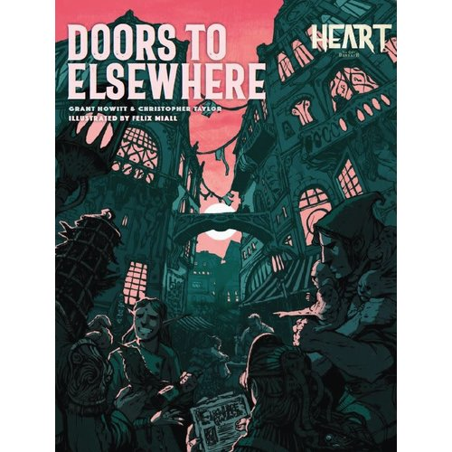 Rowan Rook and Decard HEART: DOORS TO ELSEWHERE