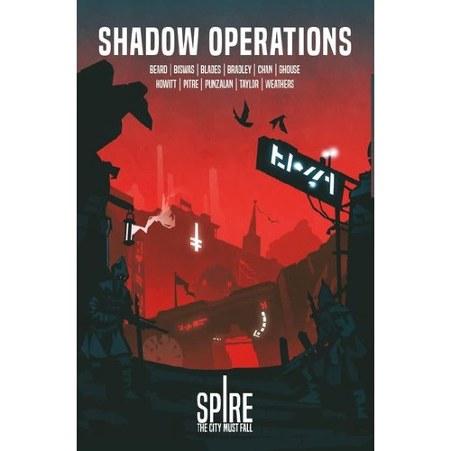 Rowan Rook and Decard SPIRE: SHADOW OPERATIONS