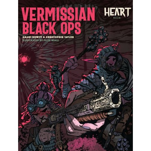 Rowan Rook and Decard HEART: VERMISSIAN BLACK OPS