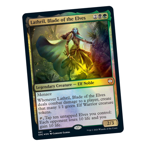 Wizards of the Coast MTG: KALDHEIM - ELVEN EMPIRE - COMMANDER DECK