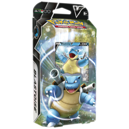 Pokemon USA POKEMON: V BATTLE: BLASTOISE THEME DECK
