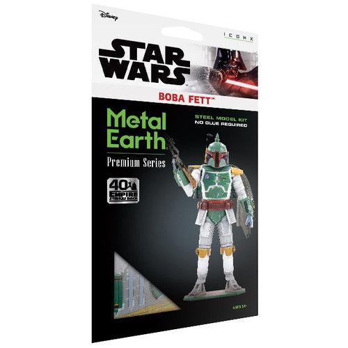 Metal Earth 3D METAL EARTH STAR WARS BOBA FETT PREMIUM