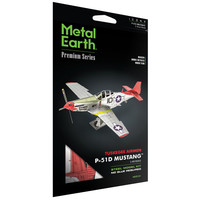 3D METAL EARTH P-51D MUSTANG PREMIUM