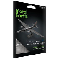 3D METAL EARTH U-2 DRAGON LADY