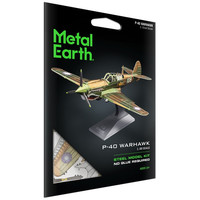 3D METAL EARTH P-40 WARHAWK