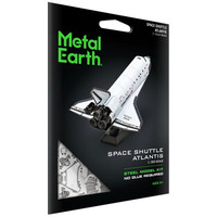 3D METAL EARTH SPACE SHUTTLE ATLANTIS