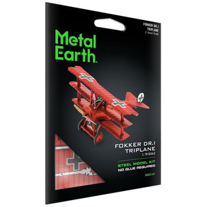 Metal Earth 3D METAL EARTH FOKKER DR.I TRIPLANE