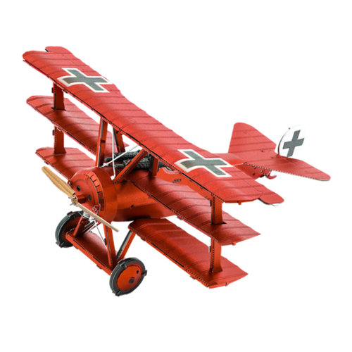 Metal Earth 3D METAL EARTH FOKKER DR.I TRIPLANE (RED BARON)