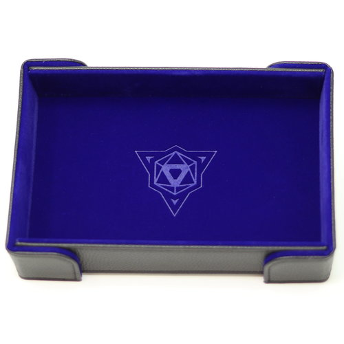 Die Hard Dice DICE TRAY: MAGNETIC BLUE RECTANGLE