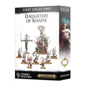 Games Workshop START COLLECTING: DAUGHTERS OF KHAINE