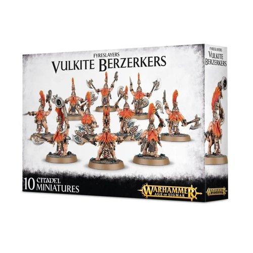 Games Workshop FYRESLAYERS VULKITE BERZERKERS