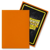 DECK PROTECTOR: DRAGON SHIELD: MATTE ORANGE (100)