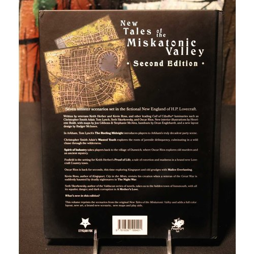 Stygian Fox NEW TALES OF THE MISKATONIC VALLEY 2E