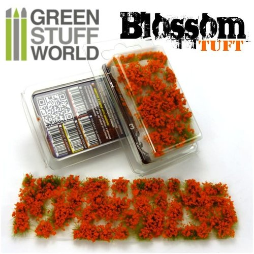 Green Stuff World BLOSSOM TUFTS - ORANGE